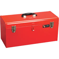 tool box excel portable toolbox with tray model tb140 red northern tool