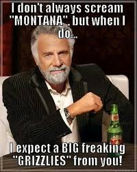 Montana Meme - 121 best go griz images on pinterest montana colleges and 20
