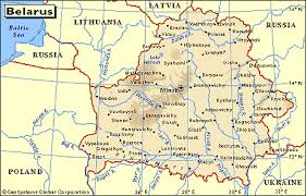 map of belarus map of belarus russia