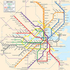 mbta boston map mbta map this is a map i made for a boston magazine articl flickr