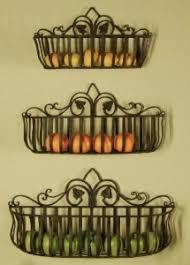 wall fruit basket wall mounted planter basket on the hunt