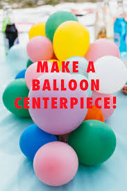 balloon centerpiece diy balloon centerpiece