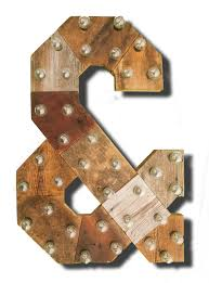 wooden letters home decor reclaimed wood marquee letters w lights shabby chic salvaged