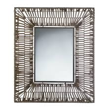 Framed Mirrors For Bathroom by Bathroom Wall Mirrors Modern Wall Mirror Decor Brown Plastic Faux