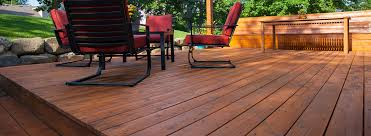 the best way to stain or paint a deck wagner spraytech