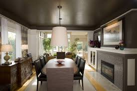 decorated dining rooms dining room decorating ideas modern unique and modern black and