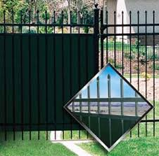 op panel for aluminum fence privacy aluminum fence