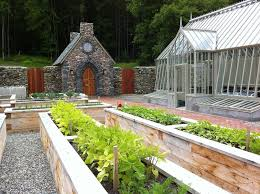walled garden ideas landscape mediterranean with cold frame slate
