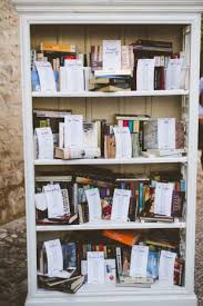 Quirky Bookcase A Quirky Book Themed Italian Wedding