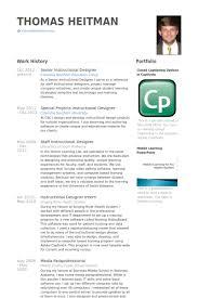 Premier Education Group Resume Senior Instructional Designer Resume Samples Visualcv Resume