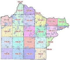 mn counties map section breakdown wright county mn official website