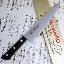 masahiro japanese chef kitchen knife molybdenum vanadium stainless