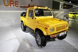jeep jipsy maruti grand vitara luxion and maruti gypsy escapade shown