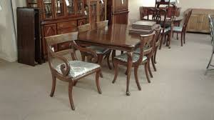 mahogany dining room furniture mahogany dining table 6 chairs delmarva furniture consignment