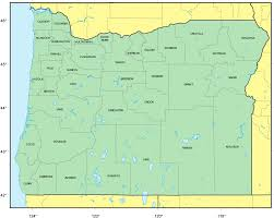 map of oregon na 1 mapsof net