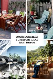 Patio Furniture Ideas by 30 Outdoor Ikea Furniture Ideas That Inspire Digsdigs