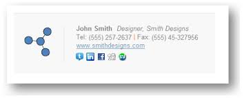 Html Email Signature Templates Free email signatures templates email template wisest email goodies