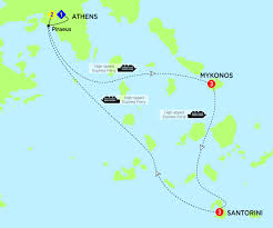 Map Of Santorini Greece by Greece Costsaver Home Canada Destination Guides Europe