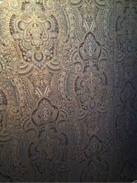 Silver Metallic Wallpaper by Gorgeous Paisley Design Metallic Wallpaper From Allen Roth