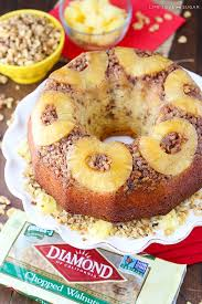pineapple walnut upside down bundt cake life love and sugar