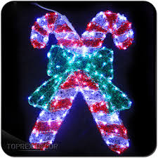 Commercial Christmas Decorations Cheap by Led Acrylic Outdoor Candy Cane Used Commercial Christmas