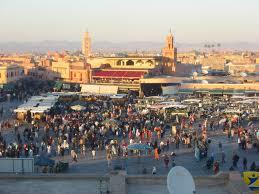 Marrakech Map World by Marrakech