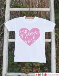 will you be my flower girl gift flower girl black heart flower girl t shirt will