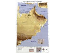 Map Of Persian Gulf Maps Of Oman Detailed Map Of Oman In English Tourist Map