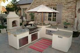 Outdoor Kitchen Ideas On A Budget Outside Kitchen Designs Zamp Co