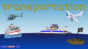 transportation vehicles air and water spelling vocabulary chant