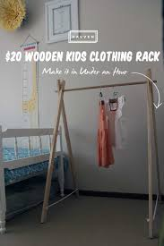 build a clothes for boys 10 easy pieces freestanding wooden clothing racks