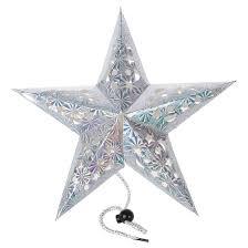Five Star Holiday Decor Pentagram Five Star Paper Lantern Hanging Ornaments Christmas