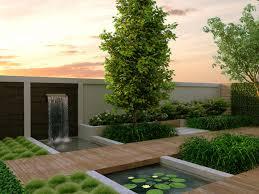 Modern Back Yard Download Modern Backyard Widaus Home Design
