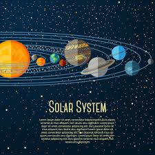 solar system design vector material epin free graphic