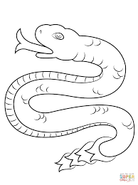 coatl snake from aztec calendar coloring page free printable