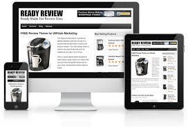 ready review free theme