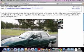 Craigslistsalemoregon by Craigslist Oregon Coast Used Cars How To Set The Search Under