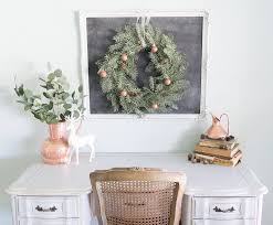 Updating Your Office Decor From Fall To Winter With Copper Sinkology