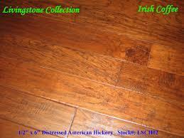 Distressed Hickory Laminate Flooring Country Wood Flooring Irishcoffee 6
