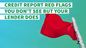 Flag Making Activity Credit Report Red Flags That Are Ruining Your Chances Of Getting A