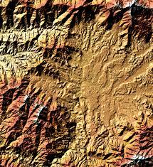 Kathmandu Nepal Map by Elevation Map Of Kathmandu Nepal Image Of The Day