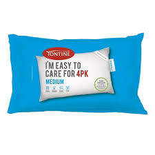 easy care tontine easy care pillows 4 pack