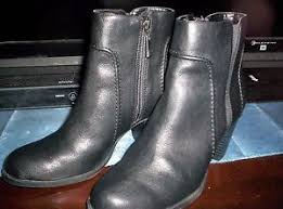 s boots size 9 1 2 simply vera s black boots size 9 1 2 med ebay