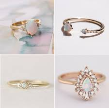 Opal Wedding Rings by Opal Engagement Rings Popsugar Love U0026