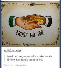 No Trust Meme - trust no one meme by knightofcydonia memedroid