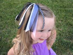 hair ribbon adding some sparkle to a plain ponytail how to nest for less