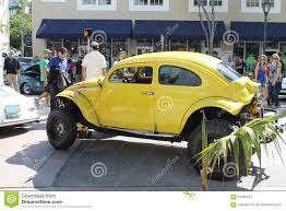 yellow baja bug old yellow car editorial stock image image of arch cars 64235104