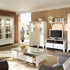 wohnzimmer moebel wohnzimmermöbel set kreta in weiß im landhausstil wohnen de