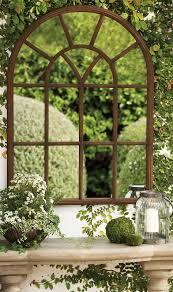 window garden mirror garden mirrors outdoors and window