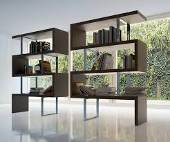 contemporary bookcase with three color options los angeles